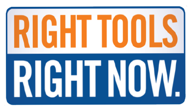 Right Tools Right Now logo